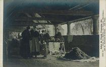 Sous les Halles, Le Faouët (Morbihan), par E. Schmidt-Wehrlin | Schmidt-wehrlin