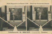 Foire-Exposition de Nantes 1928 - Stand des Teinturiers Nantais |