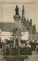 Arrivée des Pèlerins à la Fontaine |