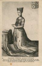 FRANCOISE d'AMBROISE, duchesse de Bretagne |