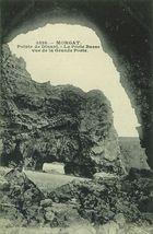 Morgat. Pointe de Dinant - La Porte Basse vue de la Grande Porte | Le DOARE