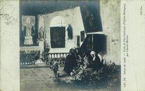 Veille de Fête (Intérieur d'Eglise-Bretagne) par Charles Rivière | Riviere Charles