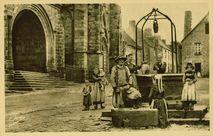 Le vieux Puits - Le Porche |