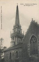 Clocher de l'Eglise de Plougar (F.) |