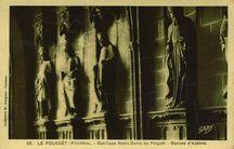 Basilique Notre-Dame du Folgoët - Statues d'Apôtres |