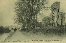 Environs de Rennes - Ruines du château de Cicé  