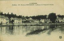 Le Blavet et le Village de St-Caradec |