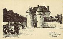 La porte St-Michel | Brassard A.