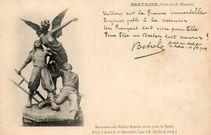 Monument des Soldats Bretons morts pour la Patrie. Elevé à Brest le 1er Novembre 1900 (A. Maillard, sculp.) |