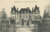 Château de la Vallée, façade Ouest |