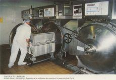 Préparation de la stérilisation des conserves à la conserveries Jean Floc'h | Quinquis J.