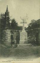 Le Monument des Victimes de l'Incendie du 28 Avril 1901  