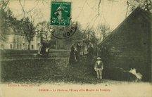 Le Château, l'Etang et le Moulin de Tronjoly |