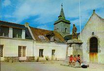 La place de l'Eglise et le monument aux morts |