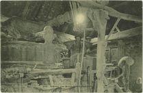 Intérieur d'un Moulin Breton (Pont-Aven) |
