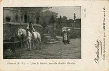 Après le labour, près du clocher (Scaër) | Godeby Charles