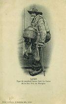 Type du mendiant breton Jack Le Carrer dit le Bon Dieu de Pluvigner |