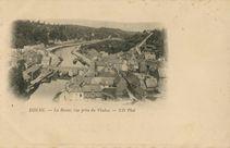 La Rance, vue prise du Viaduc | Nd