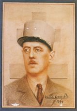 Portrait: Charles de GAULLE | A.d./ STETTLER