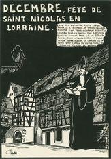 DECEMBRE, FETE DE SAINT-NICOLAS EN LORRAINE. | Lardie Jacques