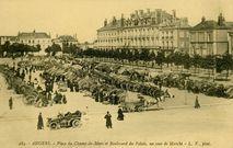 Place du Champ-de-Mars et Boulevard du Palais, un jour de Marché |