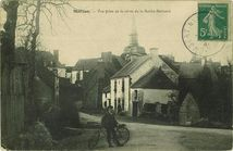 Vue prise de la route de la Roche-Bernard |