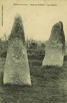 Environs de Callac - Forêt de DUAULT - Les Menhirs |