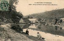 Etang du Moulin de Pont Callec (Morbihan) |