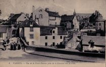 Vue de la Porte-Poterne prise de la Garenne vers la Ville |