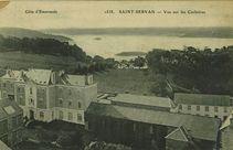 Saint-Servan - Vue sur les Corbières |