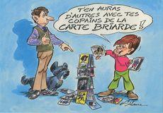 T'EN AURAS D'AUTRES AVEC TES COPAINS DE LA CARTE BRIARDE | Blanc H.