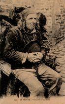 Vieux Breton en prière |