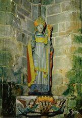La statue de Saint Ronan |