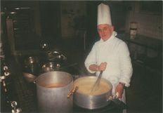 Maurice COMBROUSE, chef cuisinier au Lycée Polyvalent des Jacobins à Beauvais (60) | Gaborit Gérard