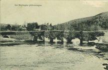 Environs de Gouarec - Vieux Pont de Bon-Repos  