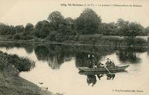 Le Passeur à l'embouchure du Semenon |