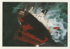 Naufrage du tanker ERIKA.   Marine Nationale