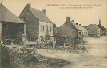 L'Arrivée par la route de la Guerche et les Ateliers BELOIR, mécanicien |