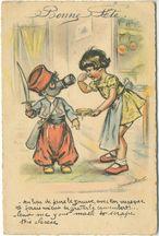 - Au lieu de faire le zouave, avec ton masque tu ferais mieux de gratter le camembert!... | Bouret Germaine