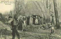 Hutte de Sabotiers en Forêt |