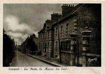 La Poste, la Mairie, les Ecoles   Amaury