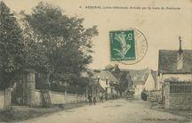Arrivée par la route de Guérande |