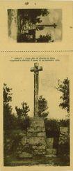 Croix dite de Charles de Blois rappelant la Bataille d'Auray le 29 septembre 1364 |