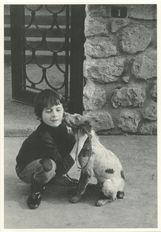 Gilles et son épagneul 1974 | Kervinio Yvon