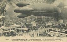 Le Dirigeable de guerre Ville de Bordeaux au Salon de l'Aéronautique | Hauser J.