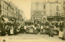 Place du Grand Marché et Marché au beurre  