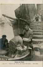 Retour de Pêche, par Paul Morchain | Morchain Paul
