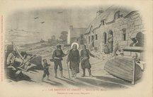 LES BRETONS AU CHRIST, dessin de Th. Busnel | Busnel Th&eacute