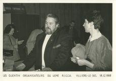 LES QUENTIN ORGANISATEUR DU 4EME R.I.C.C.A VILLIERS-LE-BEL 18.12.1988 | Bonnel