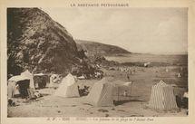 Les falaises de la plage de l'Avant-Port |
